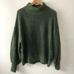 H&M Cowlneck Mohair sweater